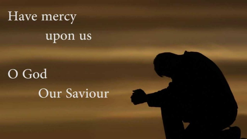 NO LORD, HAVE MERCY - The Hope of Glory Centre